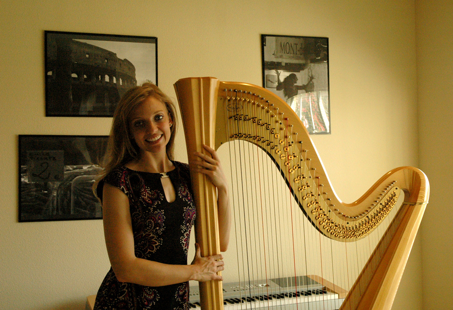 Houston Wedding Harpist Megan Schuh